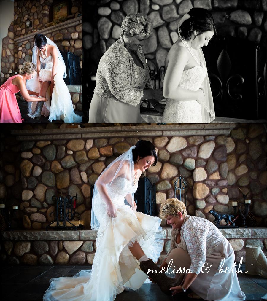 Altar Wedding Kansas City: Christy & John: Married