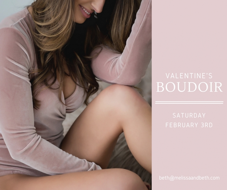Valentine's Boudoir Sessions Kansas City